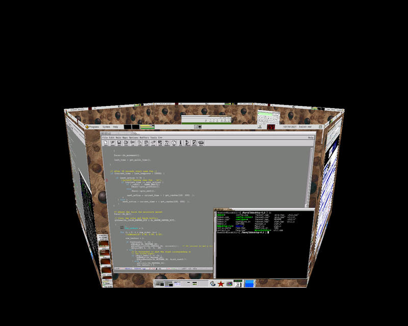 3ddesktop screenshot