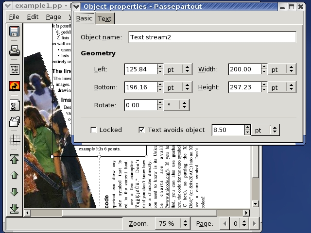 passepartout screenshot