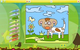 color-by-numbers-animals screenshot