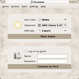 pychess screenshot